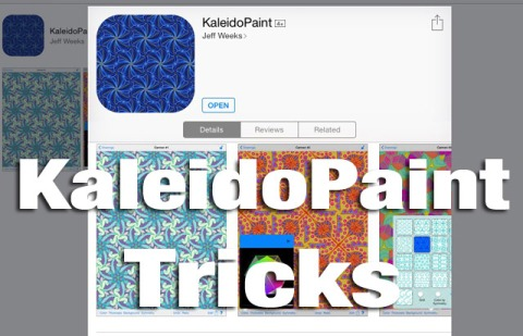 KaleidoPaint Tricks