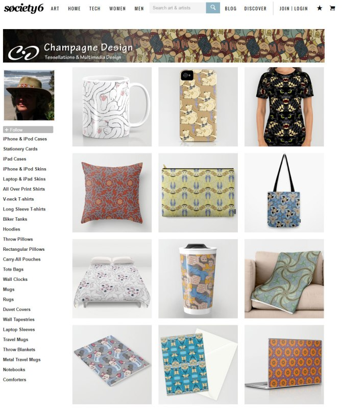 tessellations-on-society6