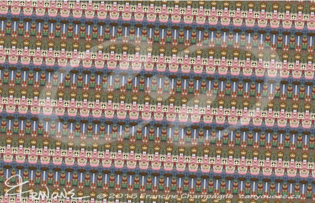Island Inhabitants tessellation by Francine Champagne, ©2014