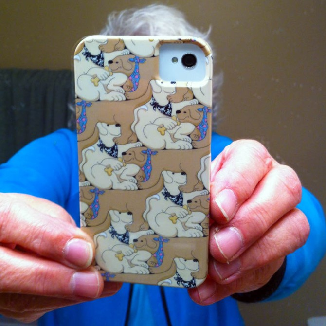 iPhone cover - goes great with the dog bark ring tone