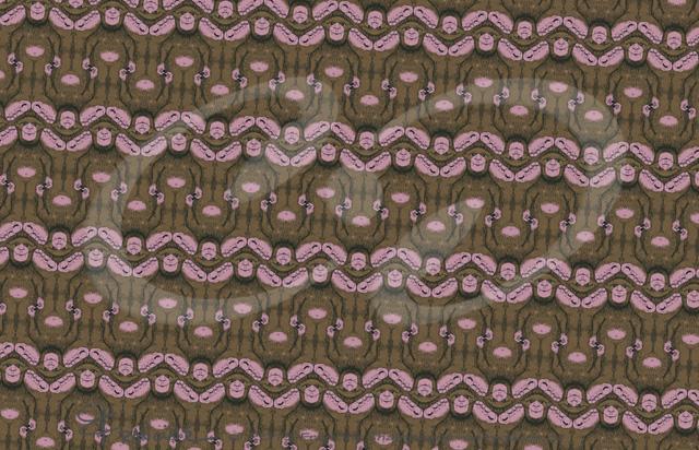 Sasquatch tessellation by Francine Champagne, ©2015 — Symétruc de Sasquatch