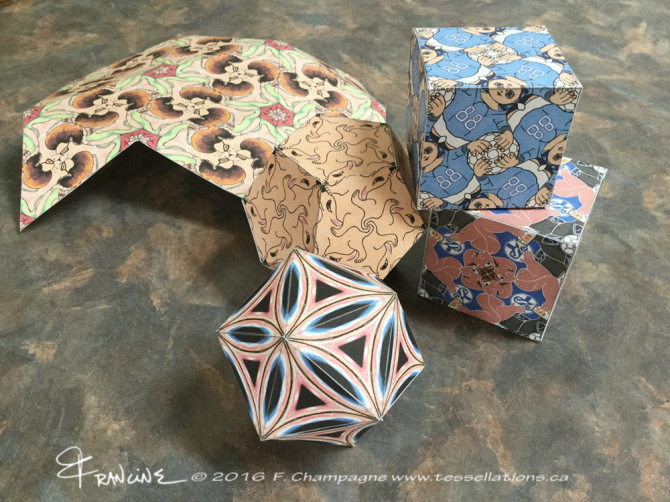 Print your own platonic solids!