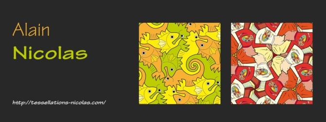 Tessellation Artist Alain Nicolas