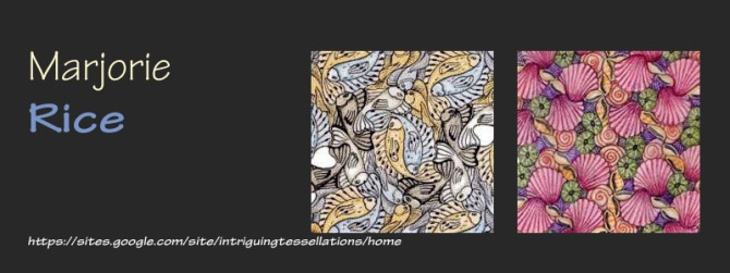 Tessellation Artist Marjorie Rice