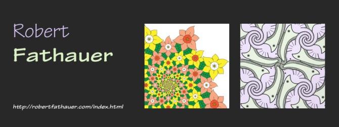 Tessellation Artist Robert Fathauer