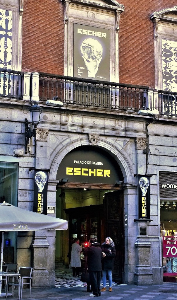 M.C. Escher exhibition in Madrid, is on till June 2017