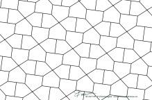 Pentagon-grid-cmm-type-1-BW