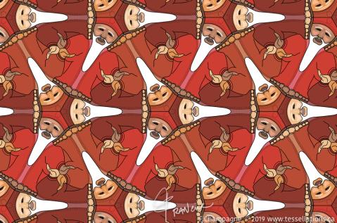 Lai Tsi, ancient China Eck Master tessellation