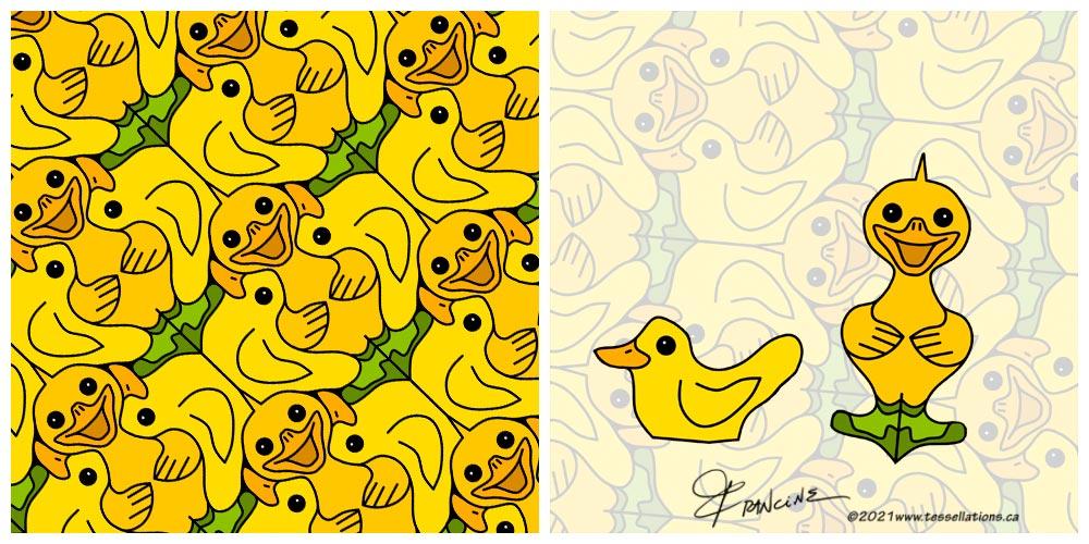 Rubber Ducky tessellation